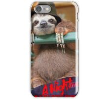 Slothy Krueger iPhone Case/Skin