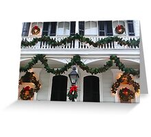 New Orleans French Quarter Christmas Greeting Card