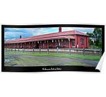 Wallangarra Railway Station Poster
