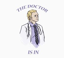 The Doctor is in 2.0 Unisex T-Shirt