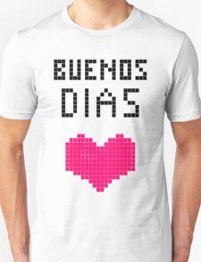 Buenos Dias Pixels Unisex T-Shirt