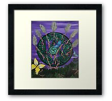 Strength and Courage Framed Print