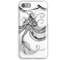 Surface Mermaid affirmation iPhone Case/Skin
