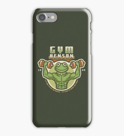 Gym Henson iPhone Case/Skin