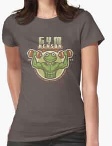Gym Henson Womens Fitted T-Shirt