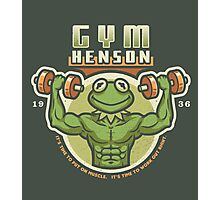 Gym Henson Photographic Print