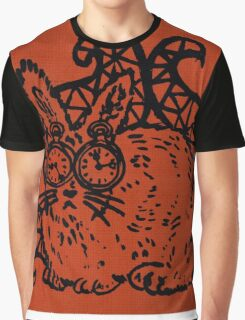 Rabbit with Tentacles Graphic T-Shirt