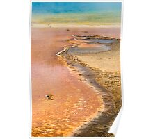 Grand Prismatic Spring Abstract Poster