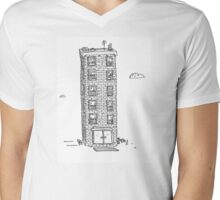 Building 1 Mens V-Neck T-Shirt