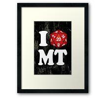 I D20 Montana Framed Print