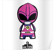 Pink Power Ranger Poster