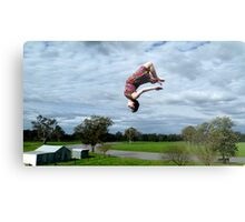 Flipping out Metal Print