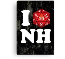 I D20 New Hampshire Canvas Print
