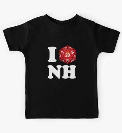 I D20 New Hampshire Kids Tee