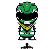 Green Power Ranger by stuckonaneyelnd