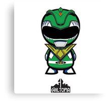 Green Power Ranger Canvas Print
