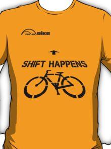 Cycling T Shirt - Shift Happens T-Shirt