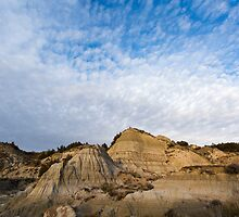 Badlands Hills of Theodore Roosevelt National Park by cavaroc