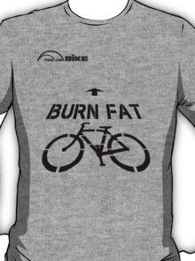 Cycling T Shirt - Burn Fat T-Shirt