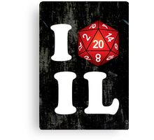 I D20 Illinois Canvas Print