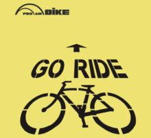 Cycling T Shirt - Go Ride by ProAmBike