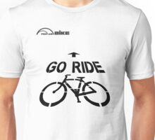Cycling T Shirt - Go Ride Unisex T-Shirt