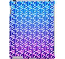 Penrose Cube - Blue Purple Gradation iPad Case/Skin