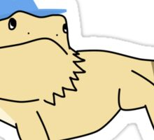 Wizard Lizard Sticker