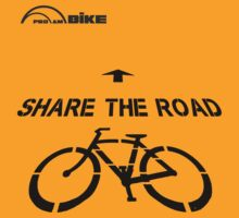 Cycling T Shirt - Share the Road by ProAmBike