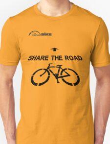 Cycling T Shirt - Share the Road T-Shirt