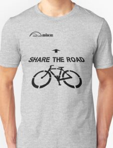Cycling T Shirt - Share the Road Unisex T-Shirt