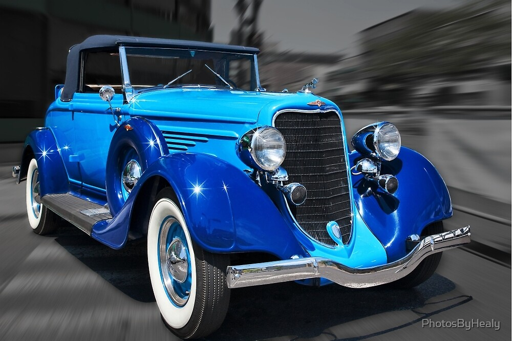 1934 Dodge convertible by PhotosByHealy