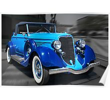 1934 Dodge convertible Poster