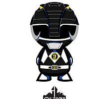 Black Power Ranger by stuckonaneyelnd