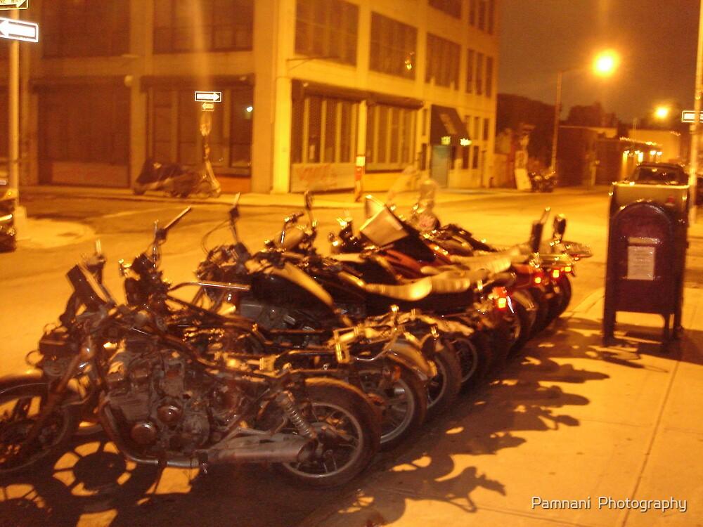 Williamsburg bikes by Pamnani  Photography