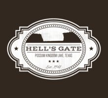 Hell's Gate II - White Logo T-Shirt