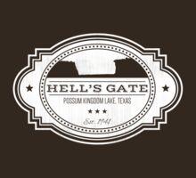 Hell's Gate II - White Logo by [original geek*] clothing