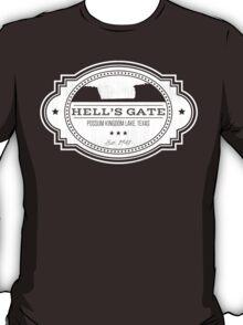 Hell's Gate II - White Logo T-Shirt