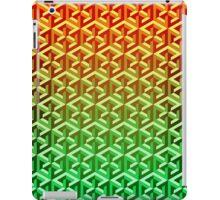 Penrose Cube - Yellow Green Gradation iPad Case/Skin