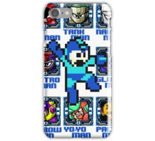 Mega Man NES Nintendo 8-Bit  iPhone Case/Skin