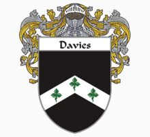 Davies Coat of Arms/Family Crest by William Martin