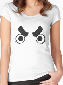Rock Lee Sees All! Women's Fitted Scoop T-Shirt