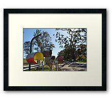 Mailroom Framed Print
