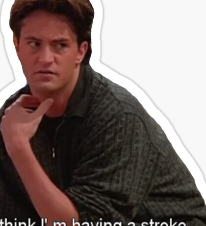 Chandler Bing  Sticker