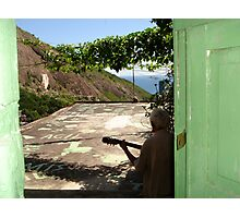 Favela heights Photographic Print