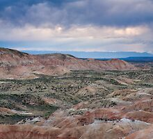 Stormy Weather Over Badlands by cavaroc