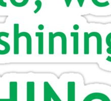 Hello, we are shining SHINee! Sticker