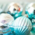 Blue Ornaments by jlechuga