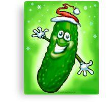 Christmas Pickle Canvas Print