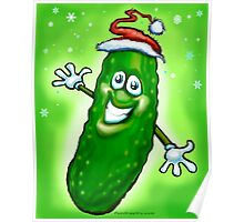 Christmas Pickle Poster